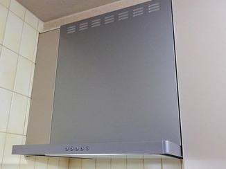 キッチンリフォーム システムキッチンのレンジフード交換