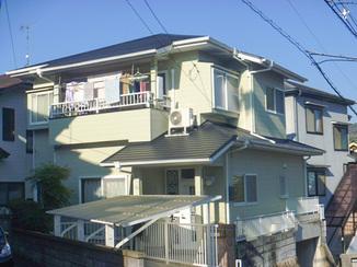 外壁・屋根リフォーム 色あせた外観が見違えるように美しく