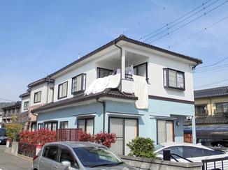 外壁・屋根リフォーム 色調整を綿密に行いまとまりのある外壁に
