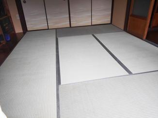 小工事 日本の伝統 畳!品質の良いイ草のいい匂いで気持ちも落ち着く