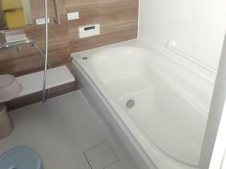 バスルームリフォーム お孫さんとお風呂に入る夢が叶った水廻りリフォーム