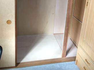 内装リフォーム 最大限に収納力をアップした押し入れでお部屋が広々