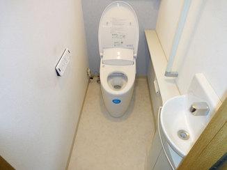 トイレリフォーム デザイン性・機能性を考慮した、快適なトイレ空間