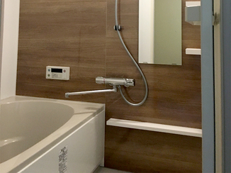 バスルームリフォーム 最新スタイルの使いやすく快適な水廻り設備