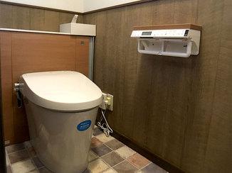 トイレリフォーム まるでお店のようにオシャレなアンティーク調のトイレ